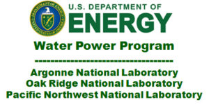 US Dept. Of Energy - Water Power Program